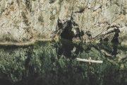rödgavelsgrotta och kajak omberg
