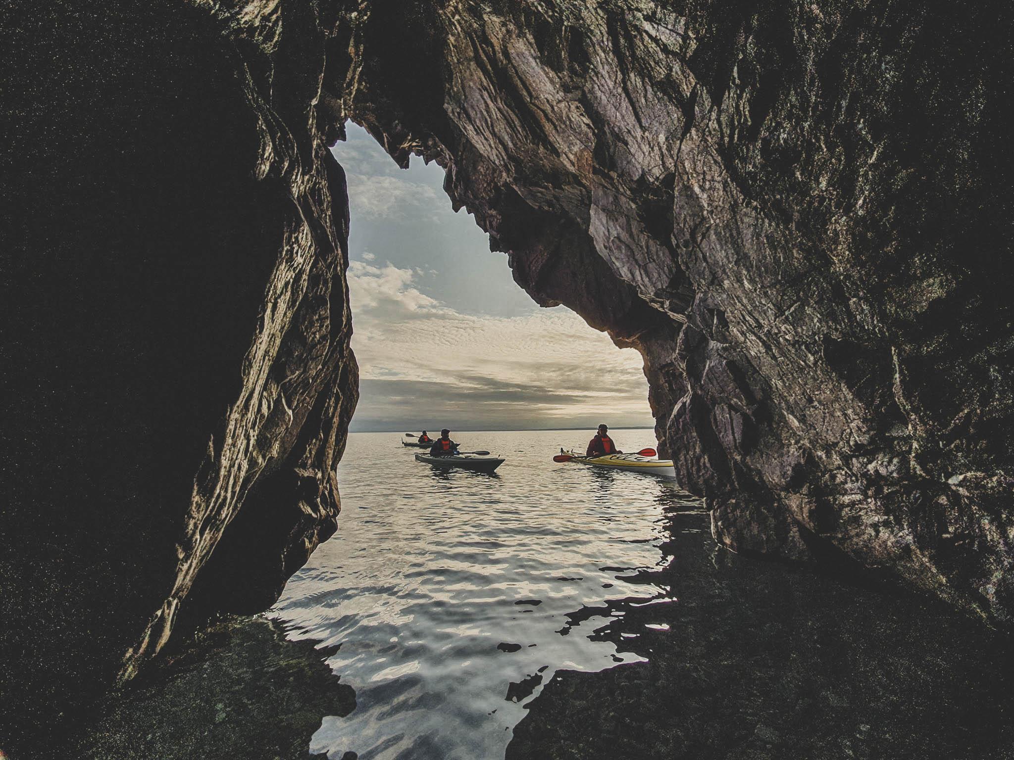 Guided kayaking – Omberg