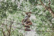 höghöjdsbana omberg zipline